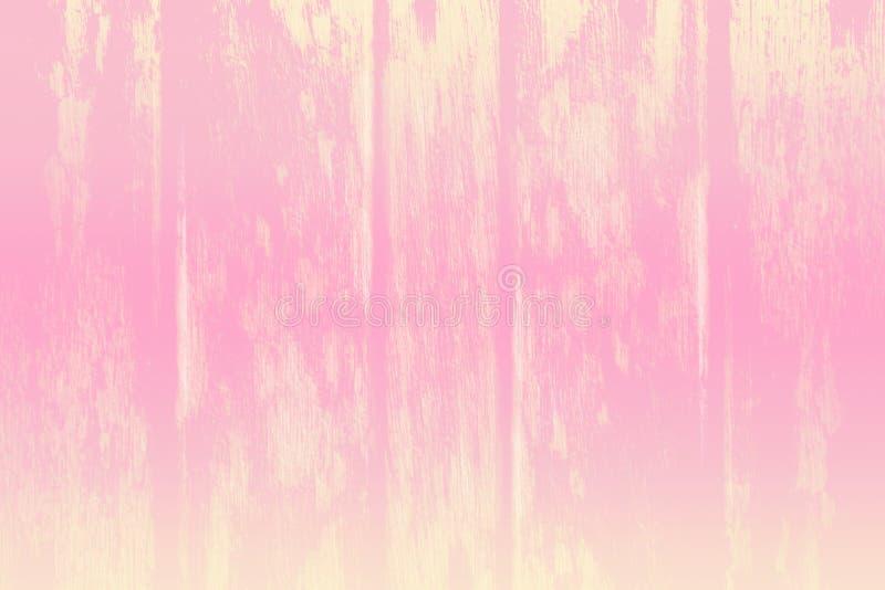 Fondo ligero rosado y marrón del Grunge del color en colores pastel del dulce fotografía de archivo libre de regalías