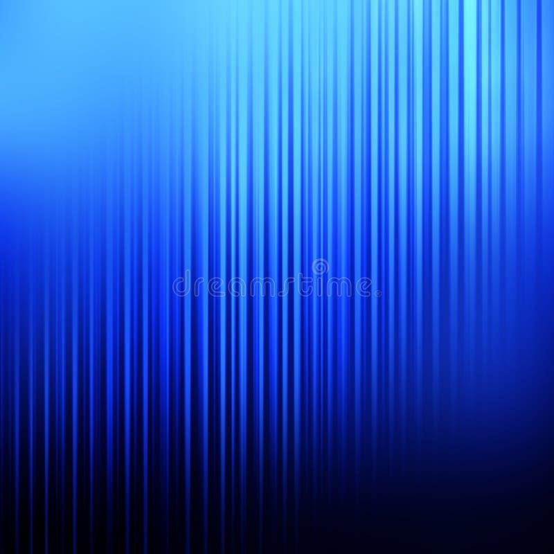 Fondo linear azul abstracto stock de ilustración