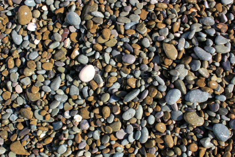Fondo liso de las piedras foto de archivo