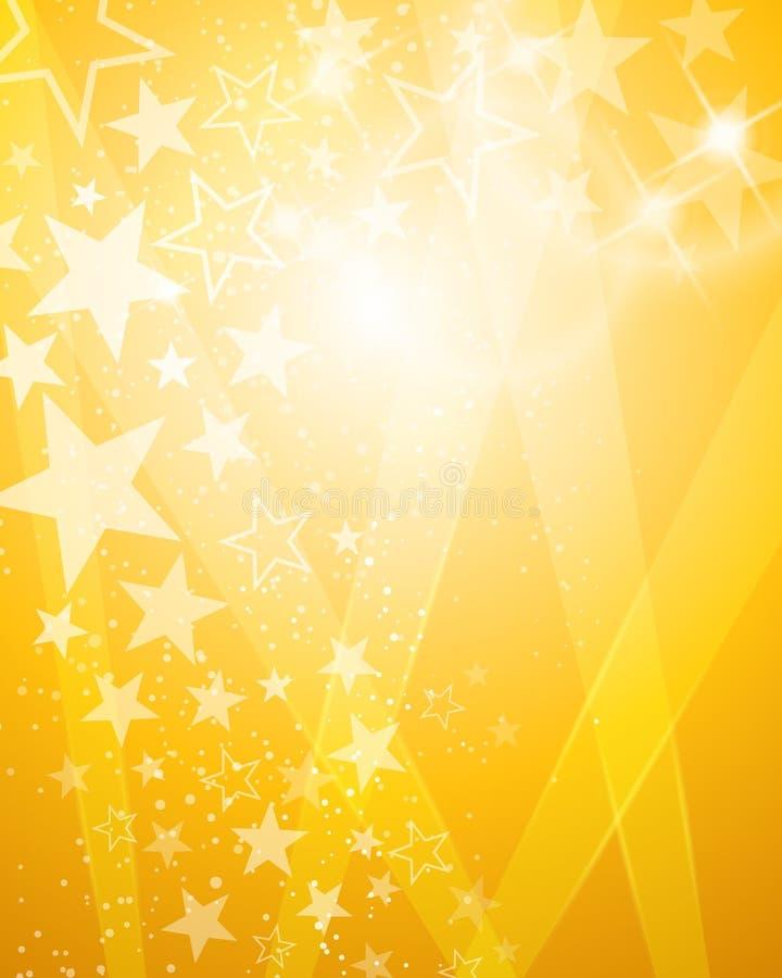 Fondo luminoso del vincitore royalty illustrazione gratis
