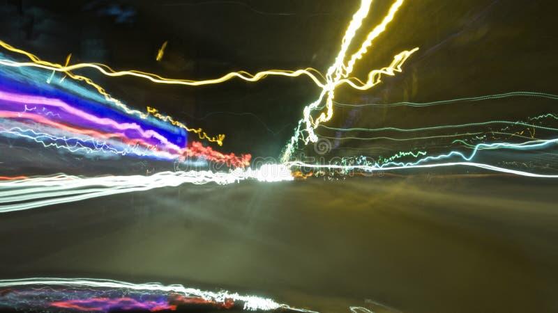 Fondo luminoso dell'automobile immersa immagine stock libera da diritti