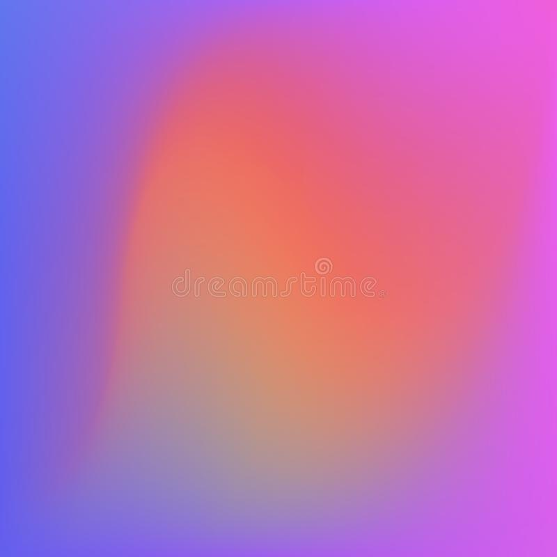Fondo luminoso dell'estratto di pendenza di colori colore regolare illustrazione di stock