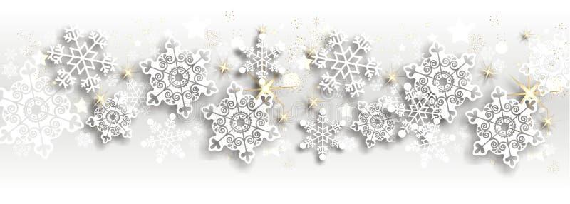 Fondo mágico de la Navidad stock de ilustración