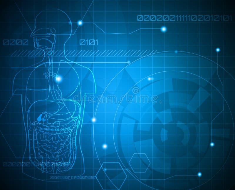 Fondo médico ilustración del vector