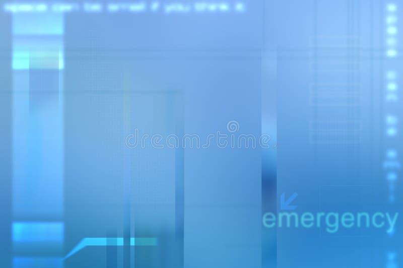 Fondo médico abstracto azul. ilustración del vector