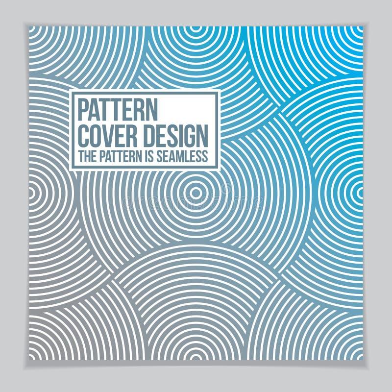 Fondo mínimo abstracto del diseño geométrico para el informe anual del negocio, la cubierta de libro, el folleto, el aviador o el libre illustration