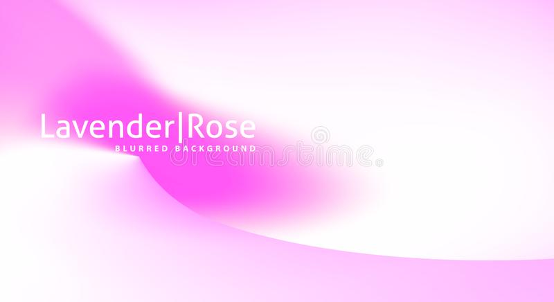 Fondo mínimo con pendiente rosada Gráficos de vector sutiles ilustración del vector