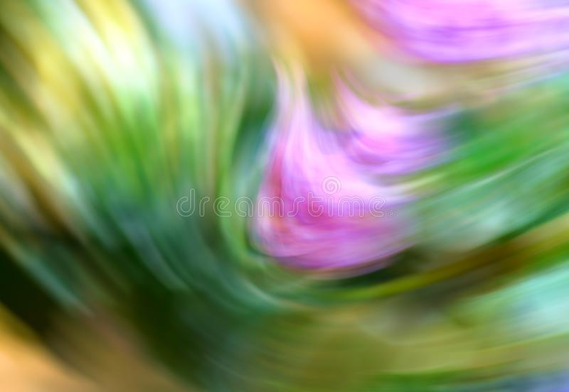Fondo móvil abstracto con colores verdes suaves foto de archivo libre de regalías