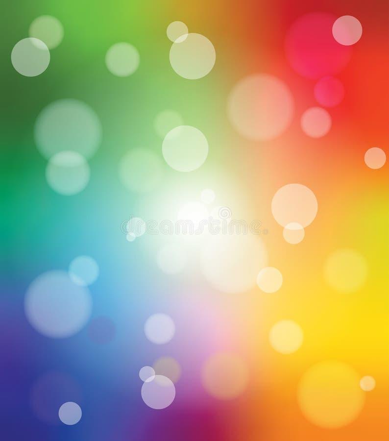 Fondo móvil colorido stock de ilustración