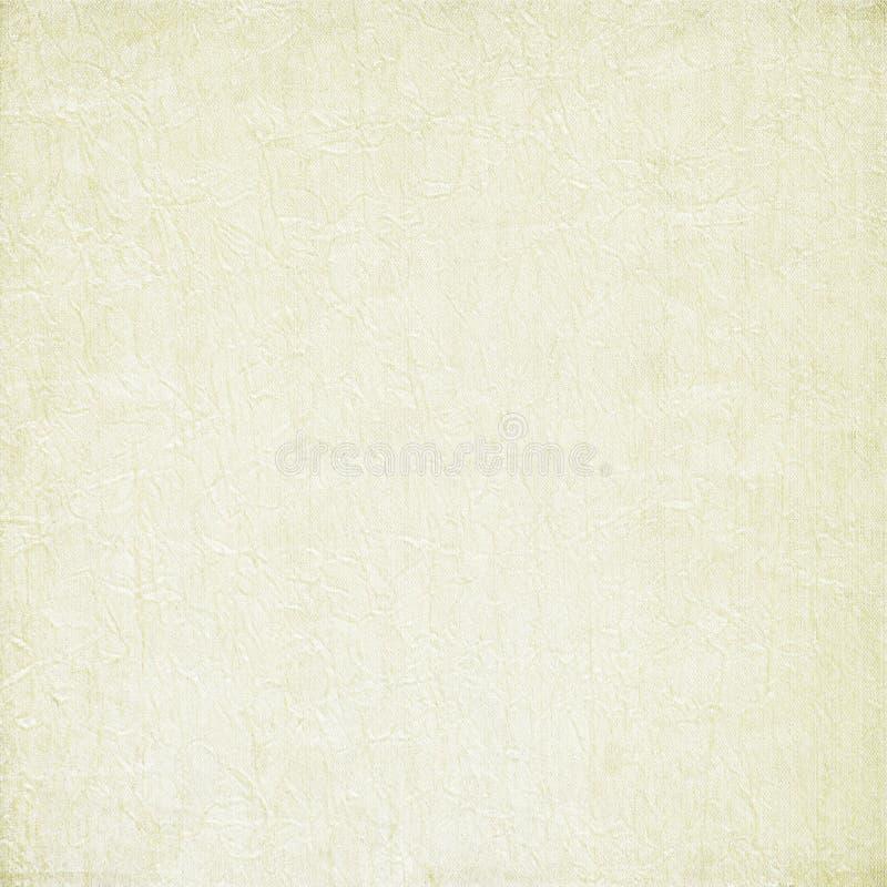 Fondo machacado pintado blanco de la tela stock de ilustración