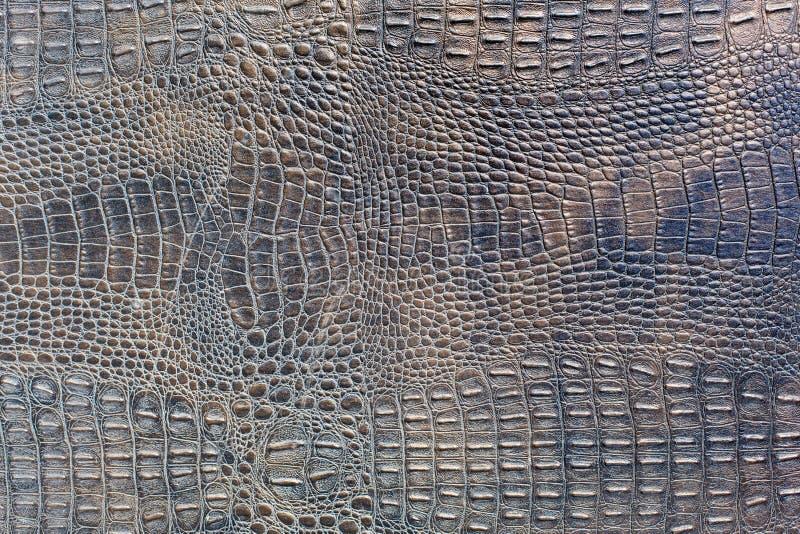 Fondo manchado violeta del cuero del cocodrilo foto de archivo libre de regalías