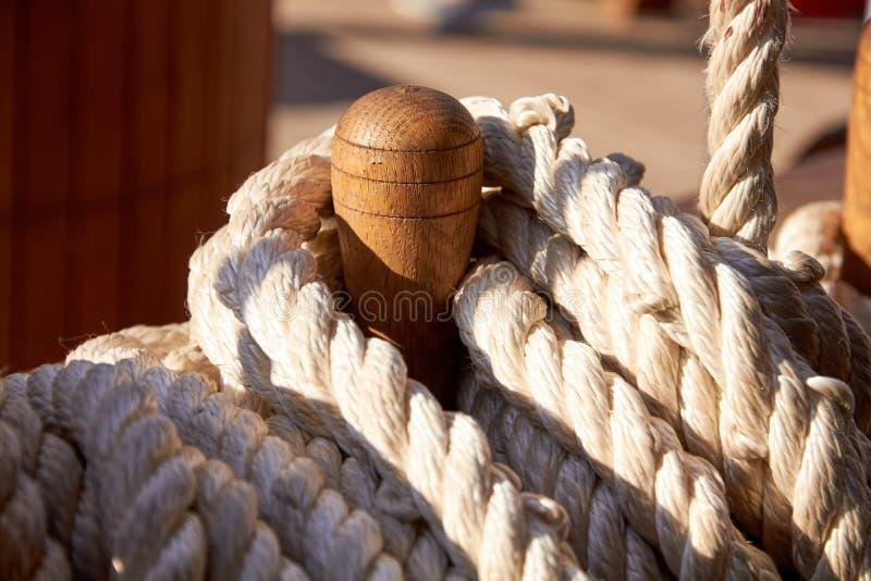 Fondo marino, blocchetto della barca a vela fotografie stock libere da diritti