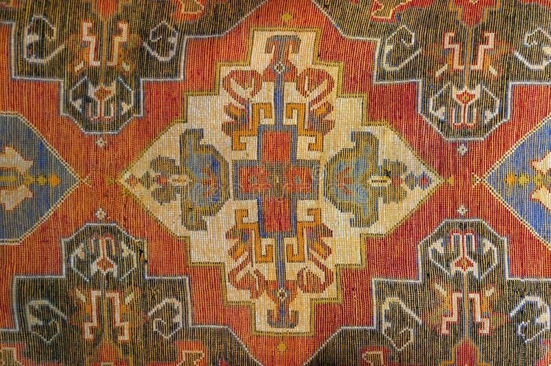 Fondo marocchino autentico del tappeto fotografie stock libere da diritti