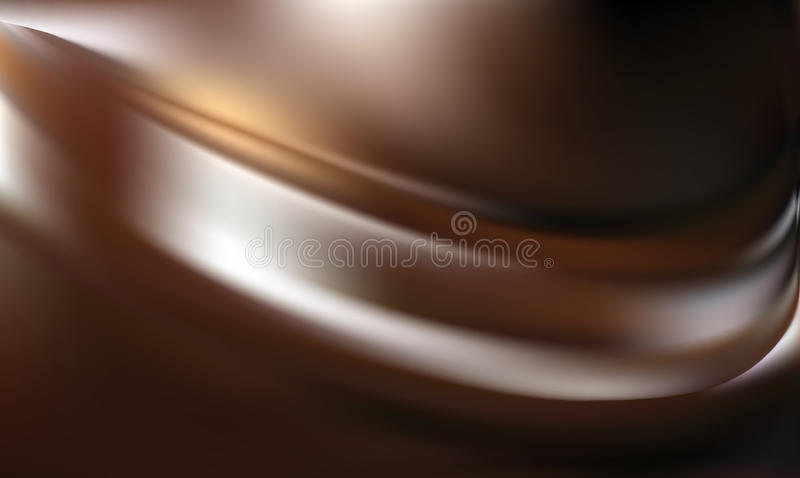 Fondo marrón abstracto ilustración del vector
