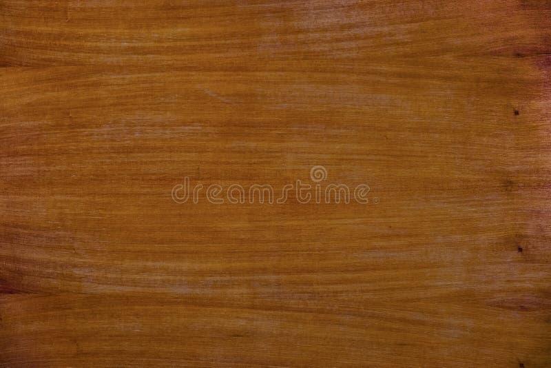 Fondo marrón de madera de la textura del grano de la teca Modelo del grunge de la naturaleza imagenes de archivo