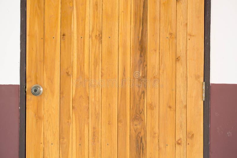 Fondo marrón de maderas de la teca imagen de archivo libre de regalías