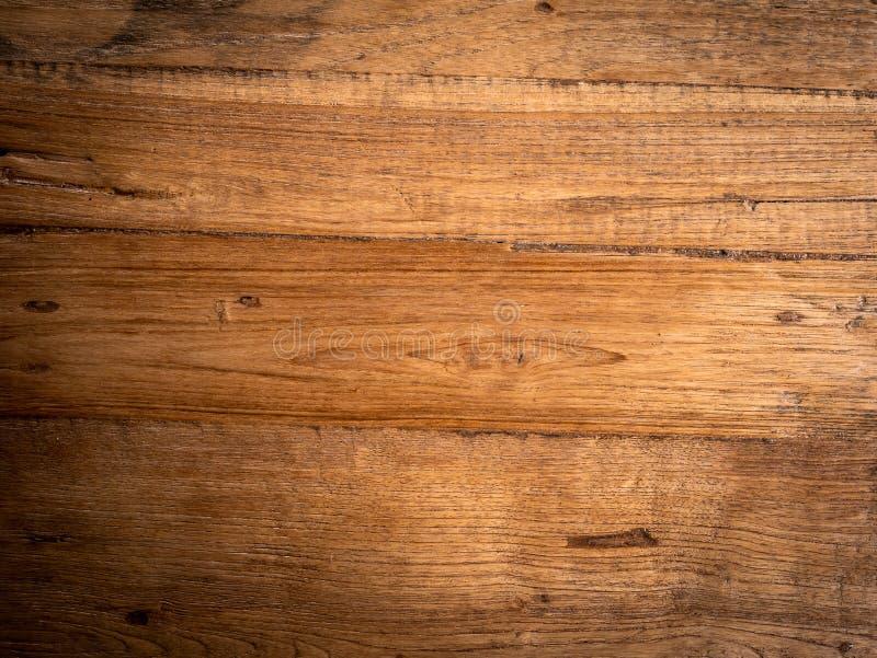 Fondo marrón de maderas viejas de la teca Carpintería, natural fotos de archivo
