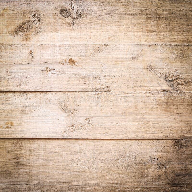 Fondo marrone di legno di struttura della plancia immagine stock