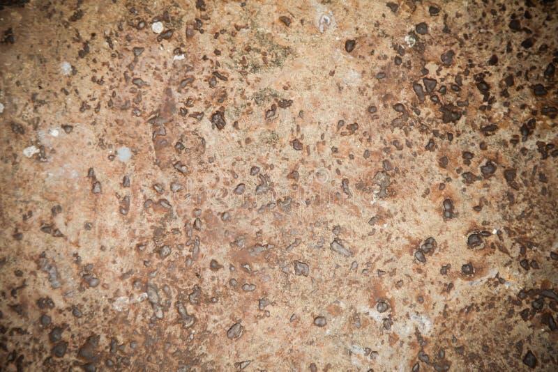 Fondo marrone di superficie della pietra fotografia stock