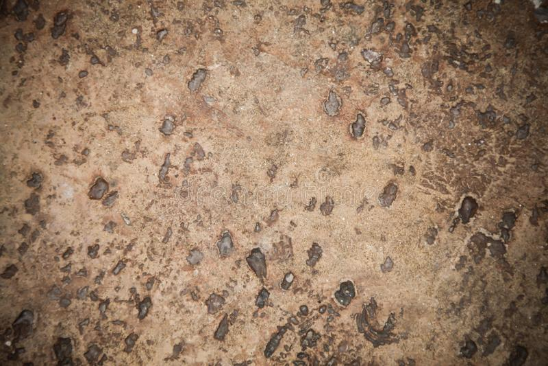 Fondo marrone di superficie della pietra immagini stock