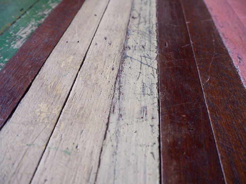 Fondo material de madera para el papel pintado del vintage fotos de archivo