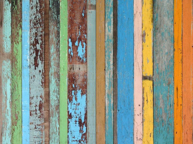 Fondo material de madera para la vendimia stock de ilustración