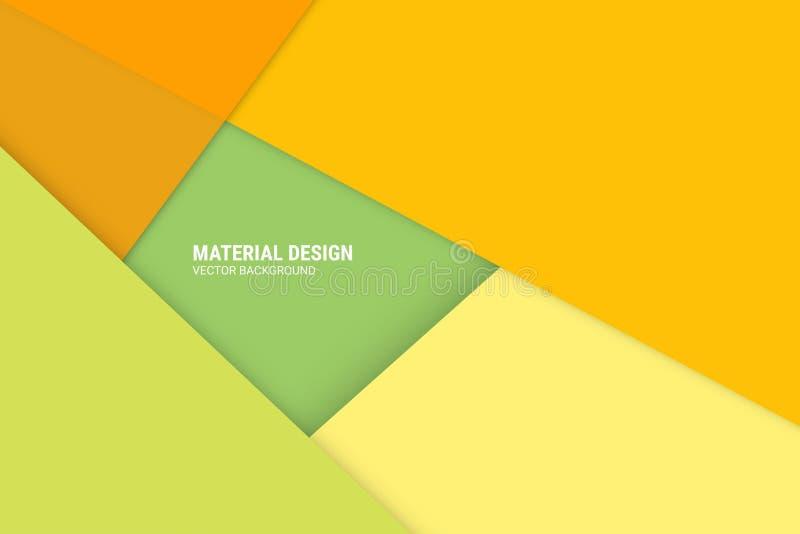 Fondo material del vector del diseño - EL del diseño del web o del uso ilustración del vector