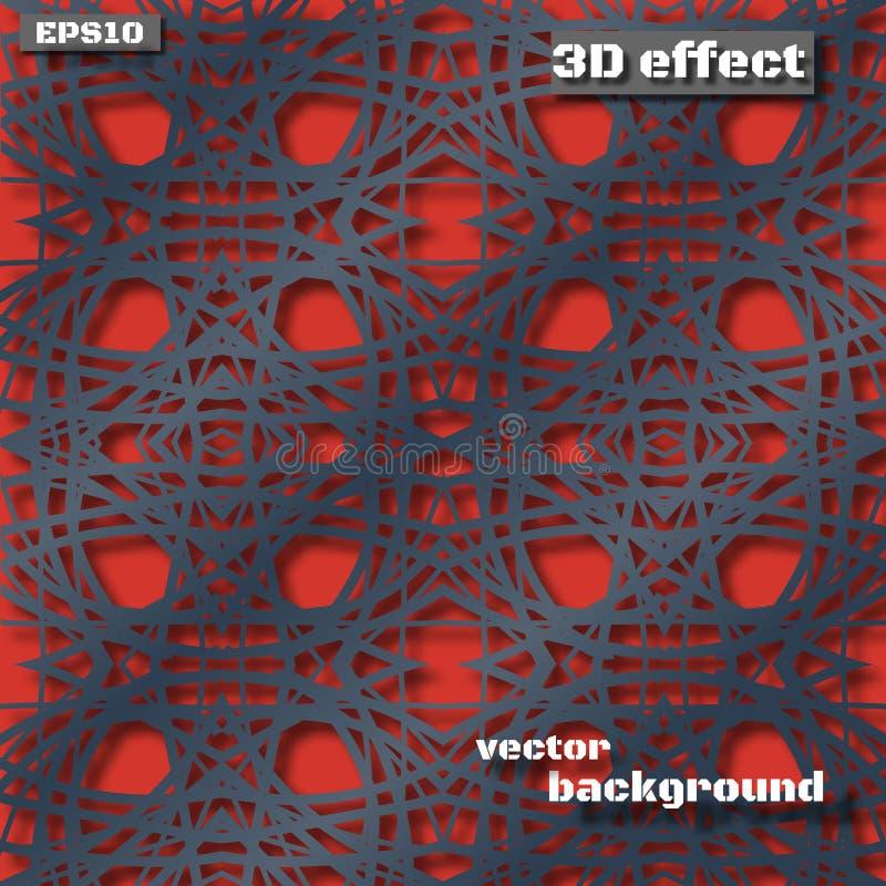 Fondo material moderno inusual del vector del diseño ilustración del vector