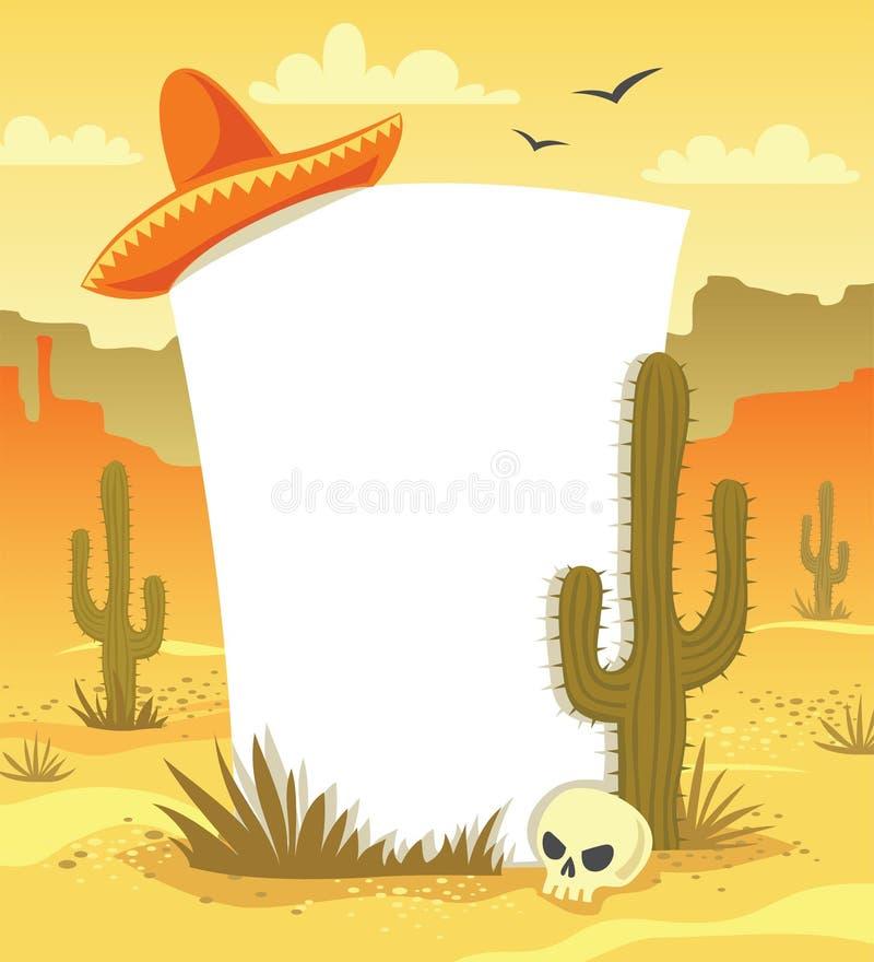 Fondo messicano royalty illustrazione gratis