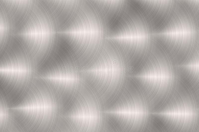 Fondo metálico ilustración del vector