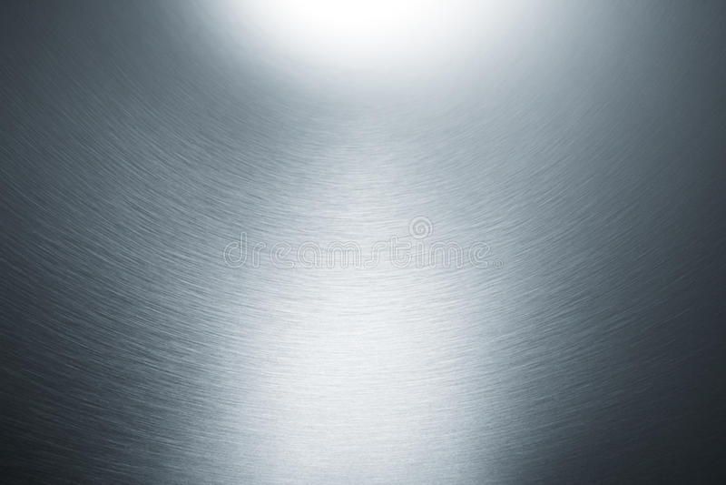 Fondo metálico de plata foto de archivo libre de regalías