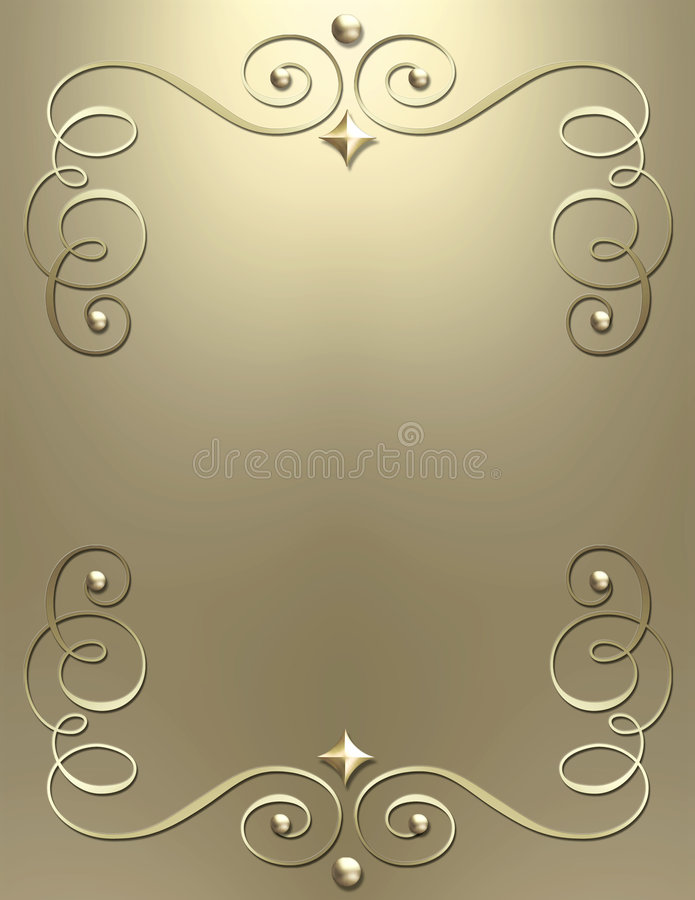 Fondo metálico elegante del remolino libre illustration