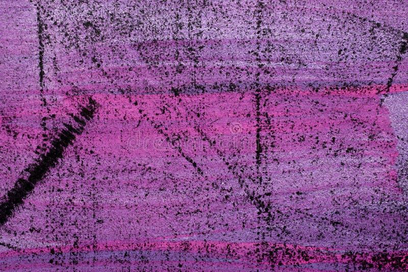 Fondo metallico dell'estratto di rosa caldo di lerciume immagini stock