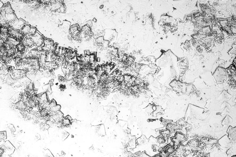 Fondo microcrystal microscópico imágenes de archivo libres de regalías