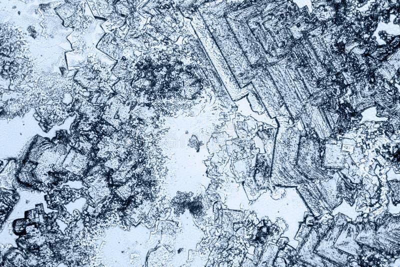 Fondo microcrystal microscópico fotografía de archivo libre de regalías