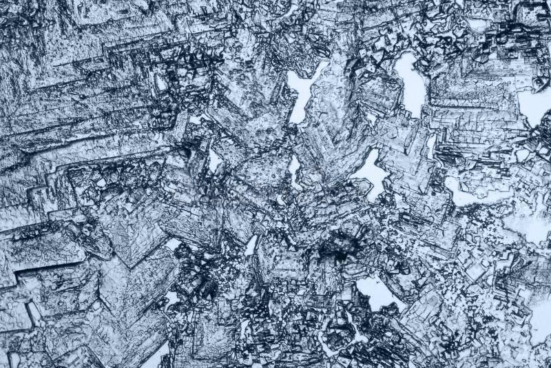 Fondo microcrystal microscópico fotos de archivo