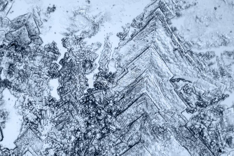 Fondo microcrystal microscópico foto de archivo libre de regalías