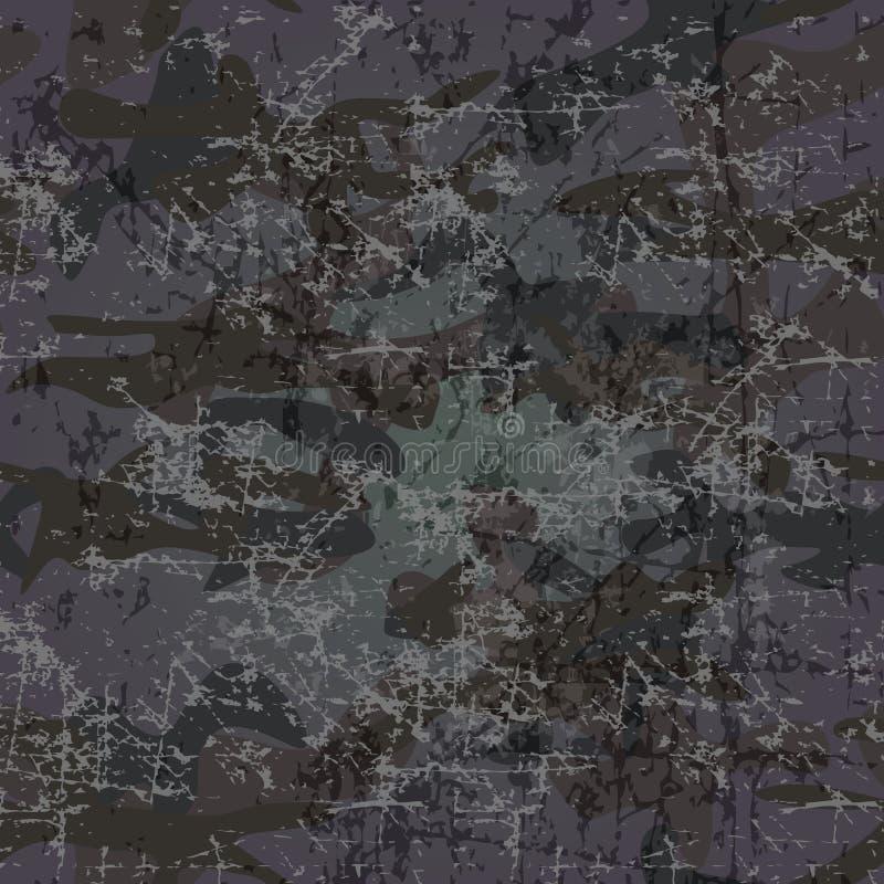 Fondo militar con el espacio de la copia () ilustración del vector