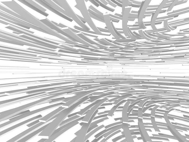 Fondo minimalistic de la maqueta geométrica abstracta moderna imágenes de archivo libres de regalías