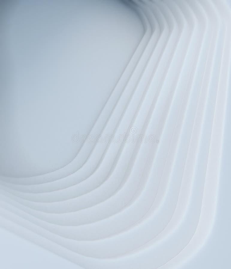 Fondo minimo pulito astratto dell'estratto di stile illustrazione vettoriale
