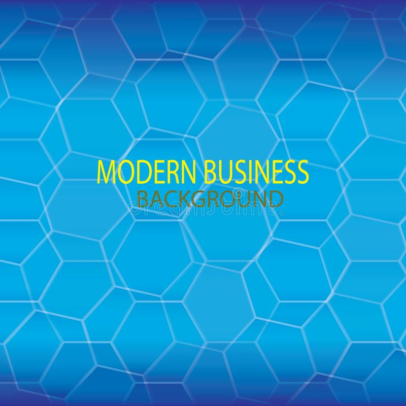 Fondo moderno azul de la tecnolog?a stock de ilustración