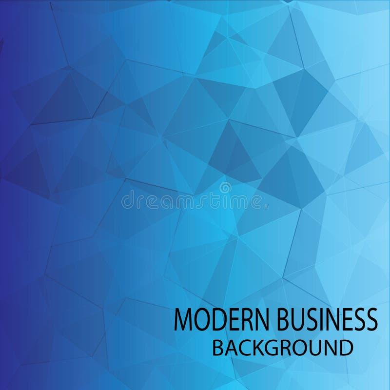 Fondo moderno azul de la tecnolog?a ilustración del vector