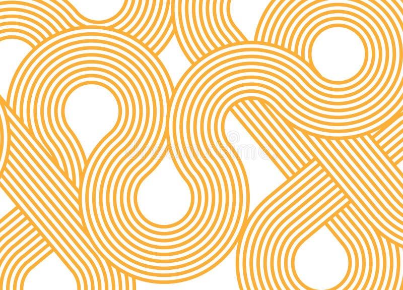 Fondo moderno Contesto astratto d'avanguardia di pendenza Progettazione di Minimalistic modello di onde a strisce fotografia stock