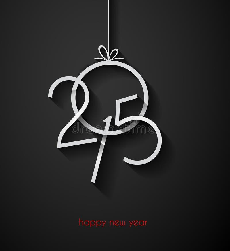 Fondo moderno de la Feliz Año Nuevo de la original 2015 libre illustration