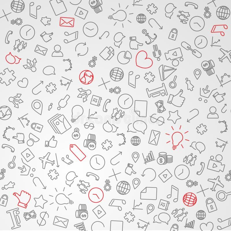 Fondo moderno de la tecnología ilustración del vector