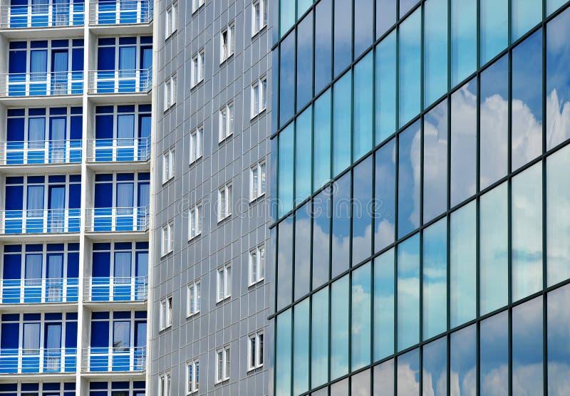Fondo moderno de los edificios de la ciudad fotos de archivo libres de regalías