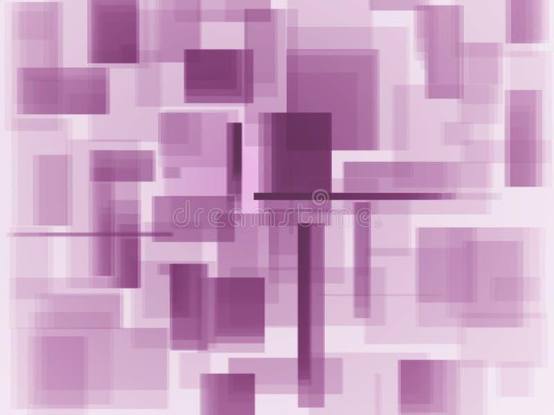 Fondo molle del quadrato di colore illustrazione di stock