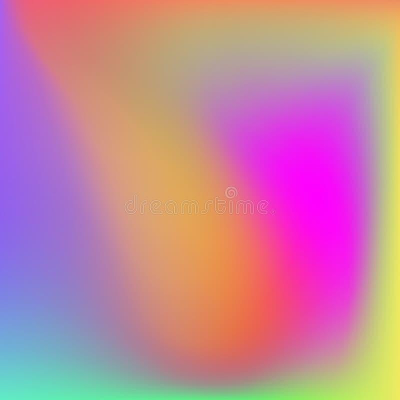 Fondo molle di colori dell'estratto luminoso di pendenza illustrazione vettoriale