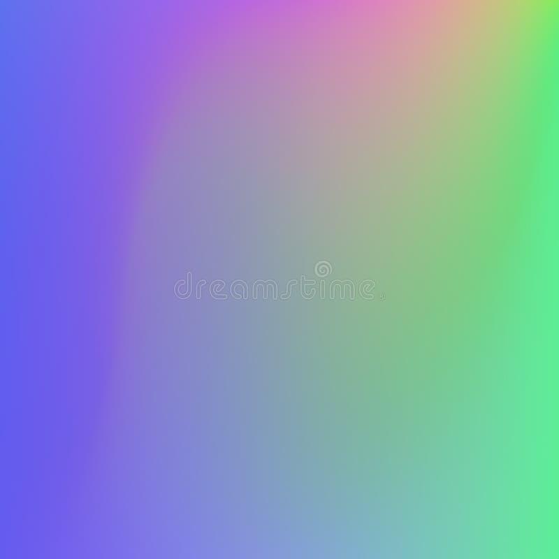 Fondo molle di colori dell'estratto luminoso di pendenza Disegno di vettore illustrazione vettoriale