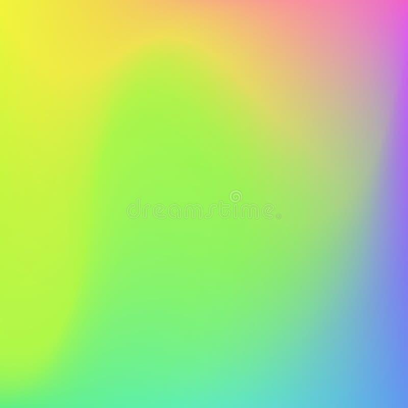 Fondo molle di colori dell'estratto luminoso di pendenza Disegno di vettore royalty illustrazione gratis
